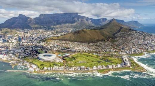 بم تشتهر دولة جنوب إفريقيا؟