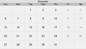 تقويم شهر ديسمبر 2020 التقويم الميلادي لشهر (12) كانون الأول 2020 بالإجازات