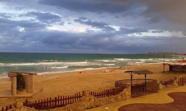 شاطئ المعمورة فى الاسكندرية