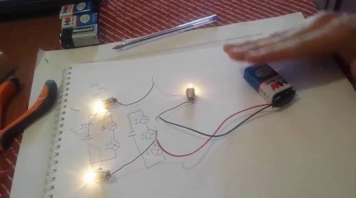 كيفية صنع الدائرة الكهربائية وأجزائها