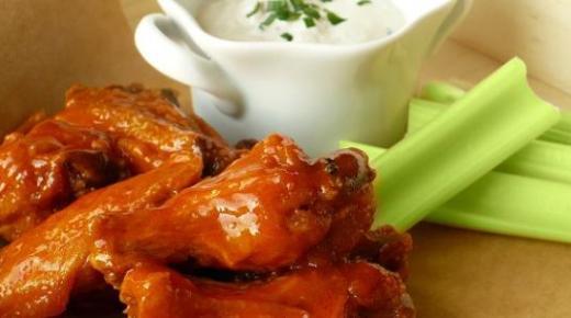 طريقة طبخ جوانح الدجاج