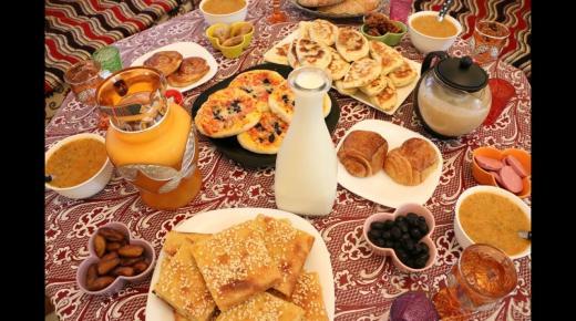 طريقة تحضير فطور رمضاني سريع