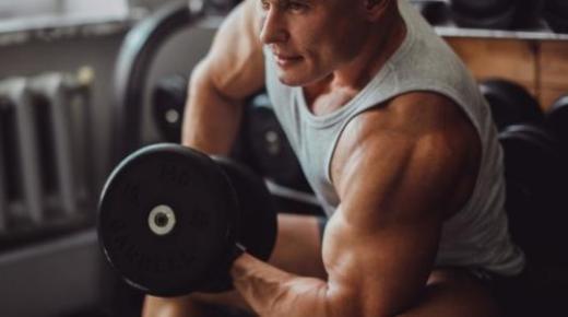 طريقة تكبير عضلة الباي