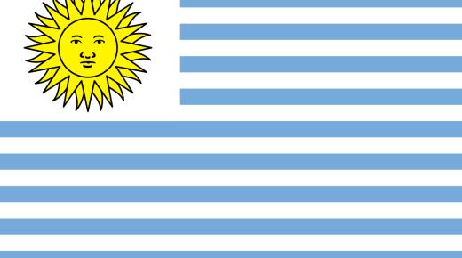 ما معنى ألوان علم الأوروغواي؟