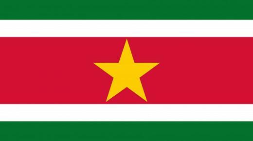 ما معنى ألوان علم سورينام ؟