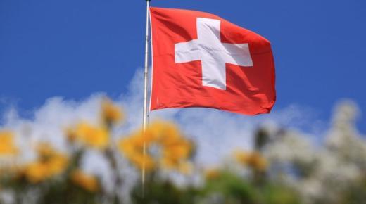 ما معنى ألوان علم سويسرا ؟
