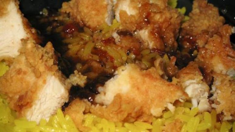عمل أرز الريزو مثل كنتاكي شهي وصحي وسهل من حيث التحضير