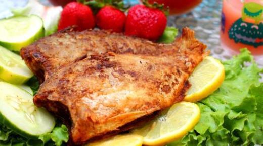 عمل السمك المقلي المقرمش زي المطاعم بالخلطة السحرية