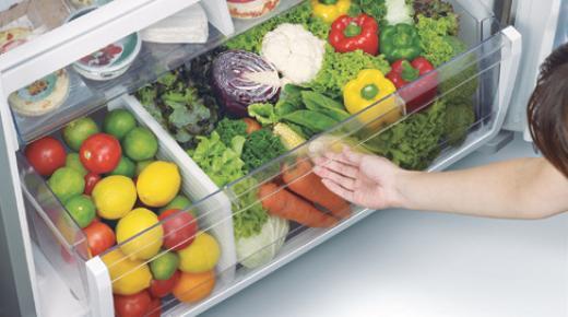 كيفية الحفاظ على الخضار في الثلاجة