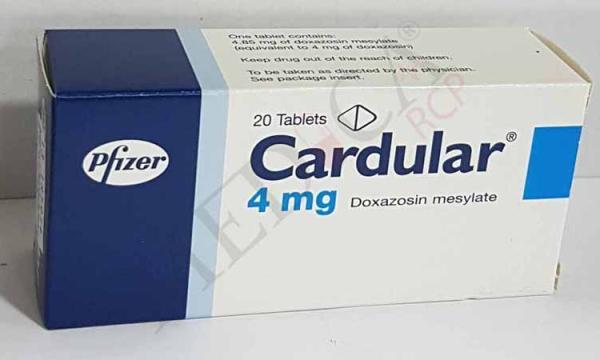 دواء كاردولار Cardular لعلاج ارتفاع ضغط الدم