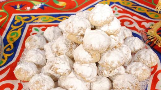 طريقة عمل كعك العيد المصري للشيف الشربيني