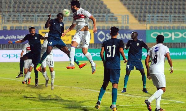 موعد مباراة الزمالك وإنبي الاثنين 25-11-2019 والقنوات الناقلة   الدوري المصري
