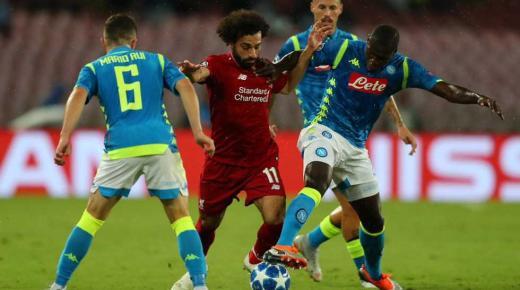 موعد مباراة ليفربول ونابولي الأربعاء 27-11-2019 والقنوات الناقلة | دوري أبطال أوروبا