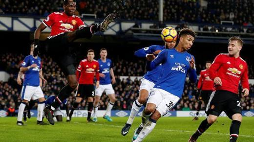 موعد مباراة مانشستر يونايتد وإيفرتون الأحد 15-12-2019 والقنوات الناقلة | الدوري الإنجليزي