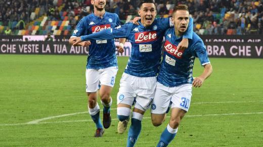 موعد مباراة نابولي وأودينيزي السبت 7-12-2019 والقنوات الناقلة | الدوري الإيطالي