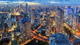 بم تشتهر مدينة بانكوك ؟