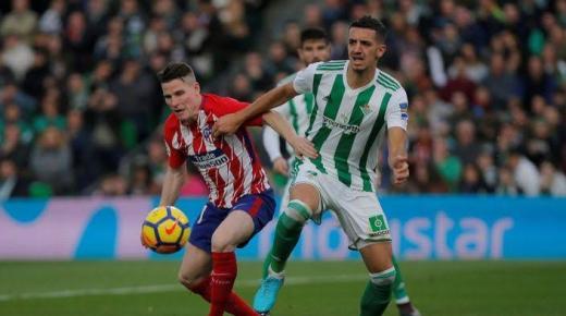 أهداف و ملخص مباراة أتلتيكو مدريد وريال بيتيس اليوم الأحد 22-12-2019 | الدوري الإسباني