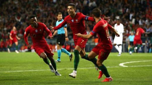 ملخص مباراة البرتغال ولوكسمبرج اليوم 17 / 11 / 2019 تصفيات يورو 2020