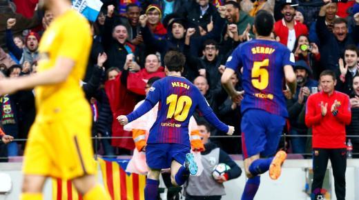 أهداف و ملخص مباراة برشلونة وأتلتيكو مدريد اليوم الأحد 1-12-2019 | الدوري الإسباني