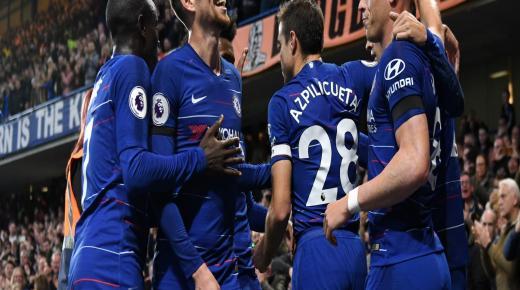 أهداف و ملخص مباراة تشيلسي وايفرتون اليوم السبت 7-12-2019 | الدوري الإنجليزي