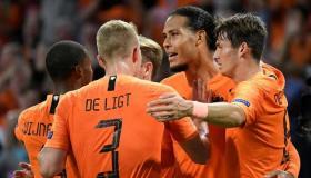 ملخص مباراة هولندا وإستونيا اليوم الثلاثاء 19-11-2019 | تصفيات يورو 2020