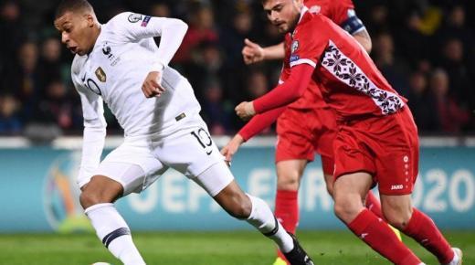 موعد مباراة فرنسا ومولدوفا 14-11-2019 بتصفيات يورو 2020 والقنوات الناقلة