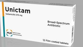 أقراص يونيكتام Unictam مضاد حيوى واسع المدى