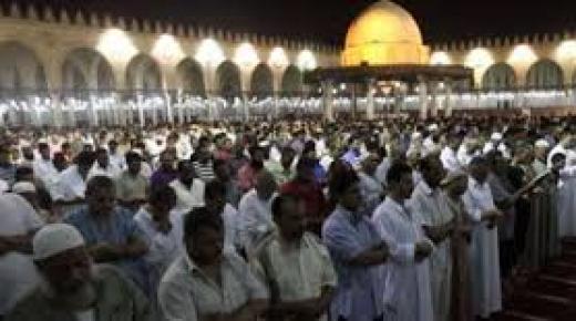 الصلاة في شهر رمضان