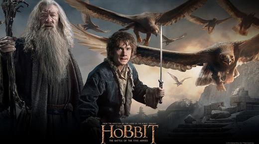فيلم The Hobbit: The Battle of the Five Armies (2014) مترجم