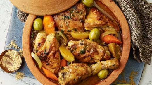 حضري طاجن الدجاج لأسرتك على الطريقة المغربية