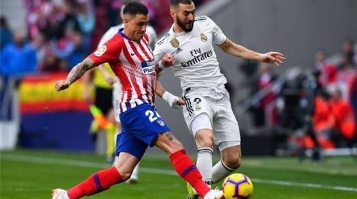موعد مباراة ريال مدريد وأتلتيكو مدريد السبت 1-2-2020 والقنوات الناقلة | الدوري الإسباني