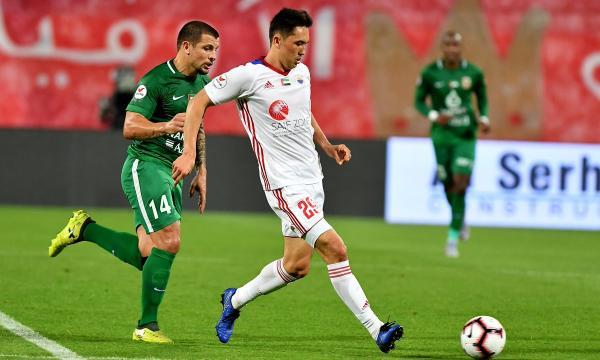 موعد مباراة شباب الأهلي دبي والشارقة الجمعة 24-1-2020 والقنوات الناقلة | الدوري الإماراتي