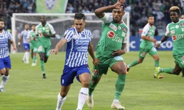 أهداف و ملخص مباراة الرجاء واتحاد طنجة اليوم الأربعاء 15-1-2020 | الدوري المغربي
