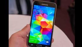مواصفات هاتف Galaxy S5