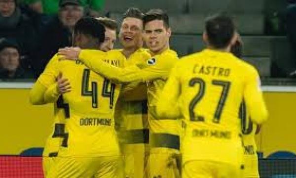 موعد مباراة بوروسيا دورتموند وآينتراخت فرانكفورت الجمعة 14-2-2020 والقنوات الناقلة | الدوري الألماني