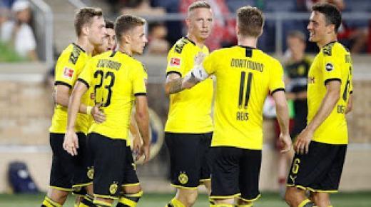 موعد مباراة بوروسيا دورتموند وباير ليفركوزن السبت 8-2-2020 والقنوات الناقلة | الدوري الألماني