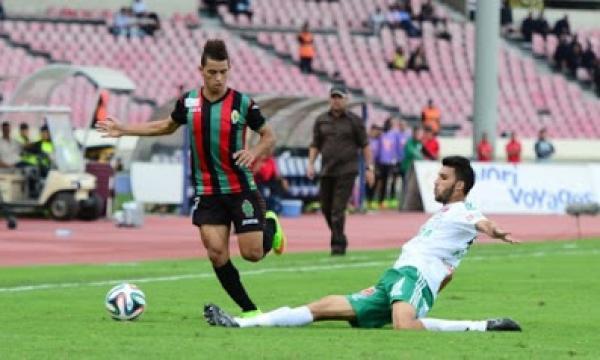 أهداف و ملخص مباراة الرجاء والجيش الملكي اليوم الأربعاء 12-2-2020   الدوري المغربي