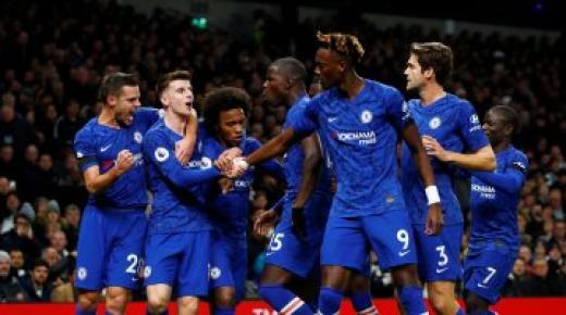 أهداف و ملخص مباراة تشيلسي وتوتنهام اليوم السبت 22-2-2020 | الدوري الإنجليزي