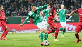أهداف و ملخص مباراة اينتراخت فرانكفورت وفيردر بريمن اليوم الأربعاء 4-3-2020   كأس ألمانيا