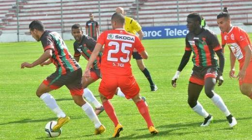 أهداف و ملخص مباراة حسنية اكادير والجيش الملكي اليوم الخميس 12-3-2020 | الدوري المغربي
