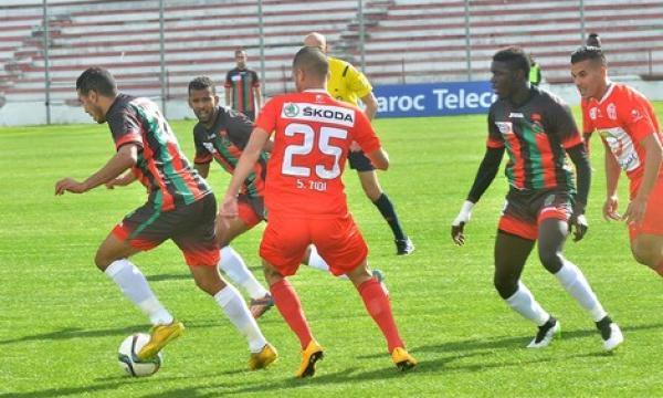 أهداف و ملخص مباراة حسنية اكادير والجيش الملكي اليوم الخميس 12-3-2020   الدوري المغربي