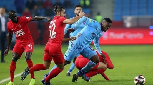 أهداف و ملخص مباراة طرابزون سبور وبلدية اسطنبول اليوم الأحد 15-3-2020 | الدوري التركي