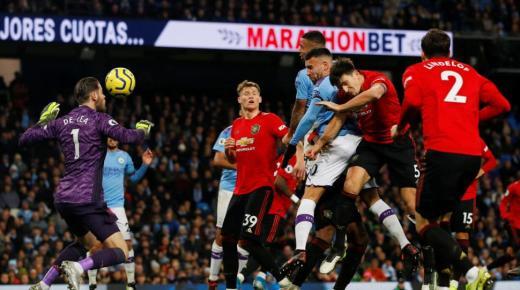 أهداف و ملخص مباراة مانشستر يونايتد ومانشستر سيتي اليوم الأحد 8-3-2020 | الدوري الإنجليزي
