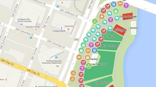 التحديث الأخير لتطبيق الخرائط Google map