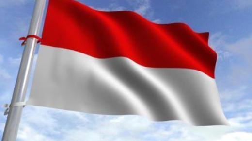 ما معنى ألوان علم إندونيسيا؟