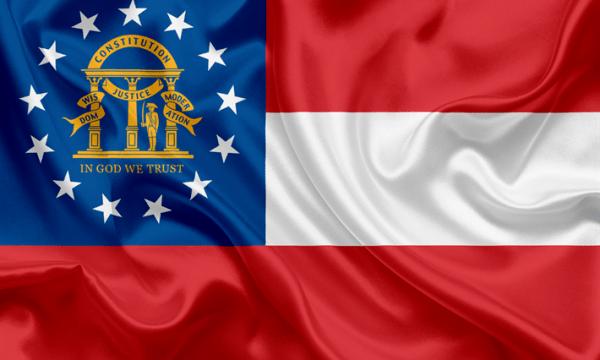 ما معنى ألوان علم جورجيا؟