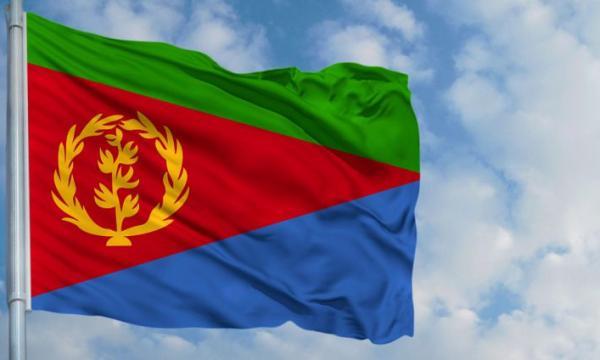 ما معنى ألوان علم إريتريا؟