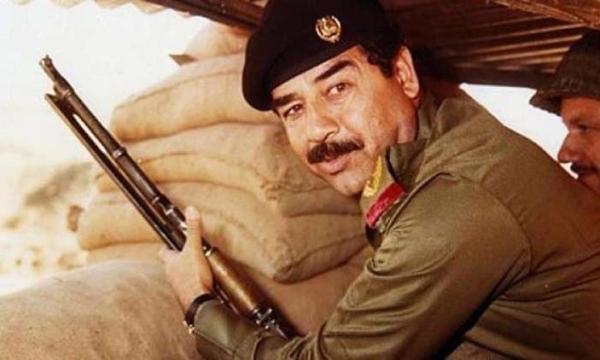 شعر صدام حسين قبل إعدامه