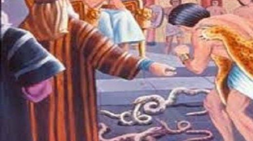موسى والسحرة