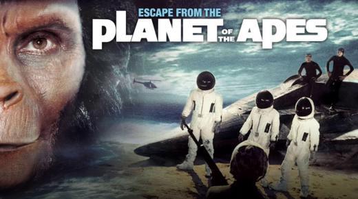 فيلم Escape from the Planet of the Apes (1971) مترجم